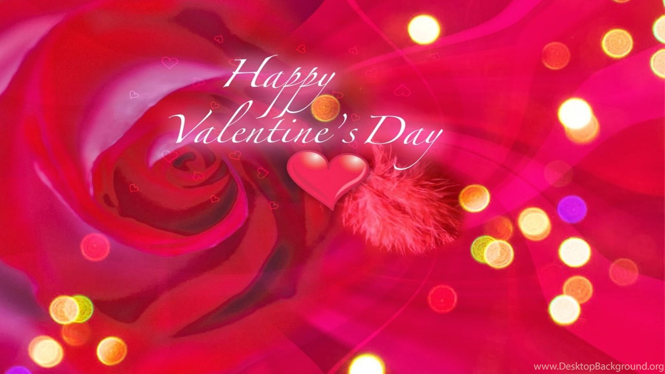 heart with special effects happy valentines day hd pic desktop