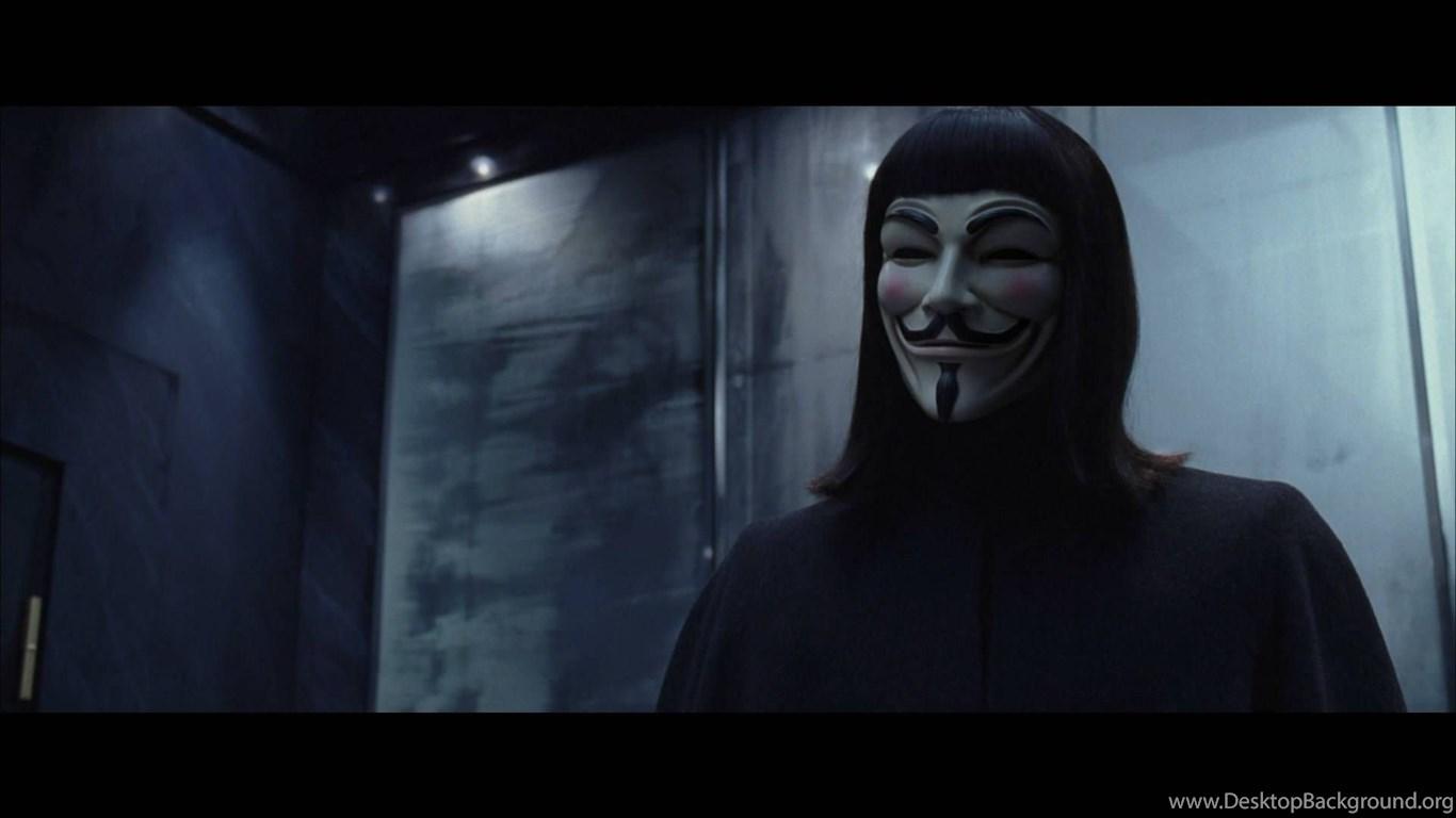Screenshot V For Vendetta Wallpapers Desktop Background