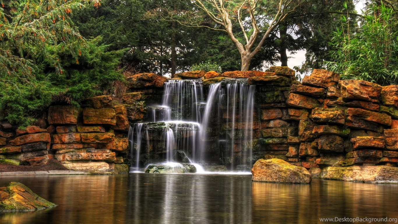 free waterfalls wallpapers nature hdr wallpapers hd wallpapers