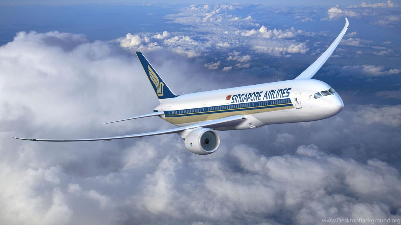 Download wallpapers boeing 787 singapore airlines 1920 - Boeing wallpapers for desktop ...