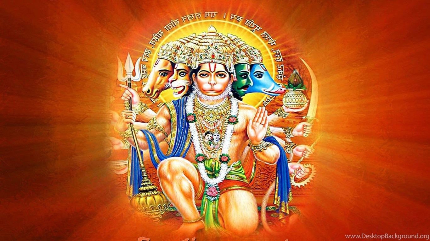 Download Lord Hanuman Shri Ram Hd Wallpapers Panchmukhi Hanuman Ji Desktop Background