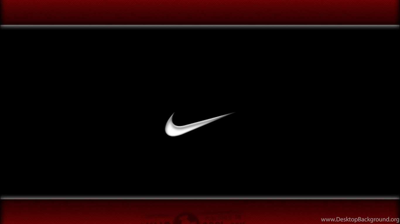 Nike Logo Red Effect Cool Wallpapers HD Desktop Desktop