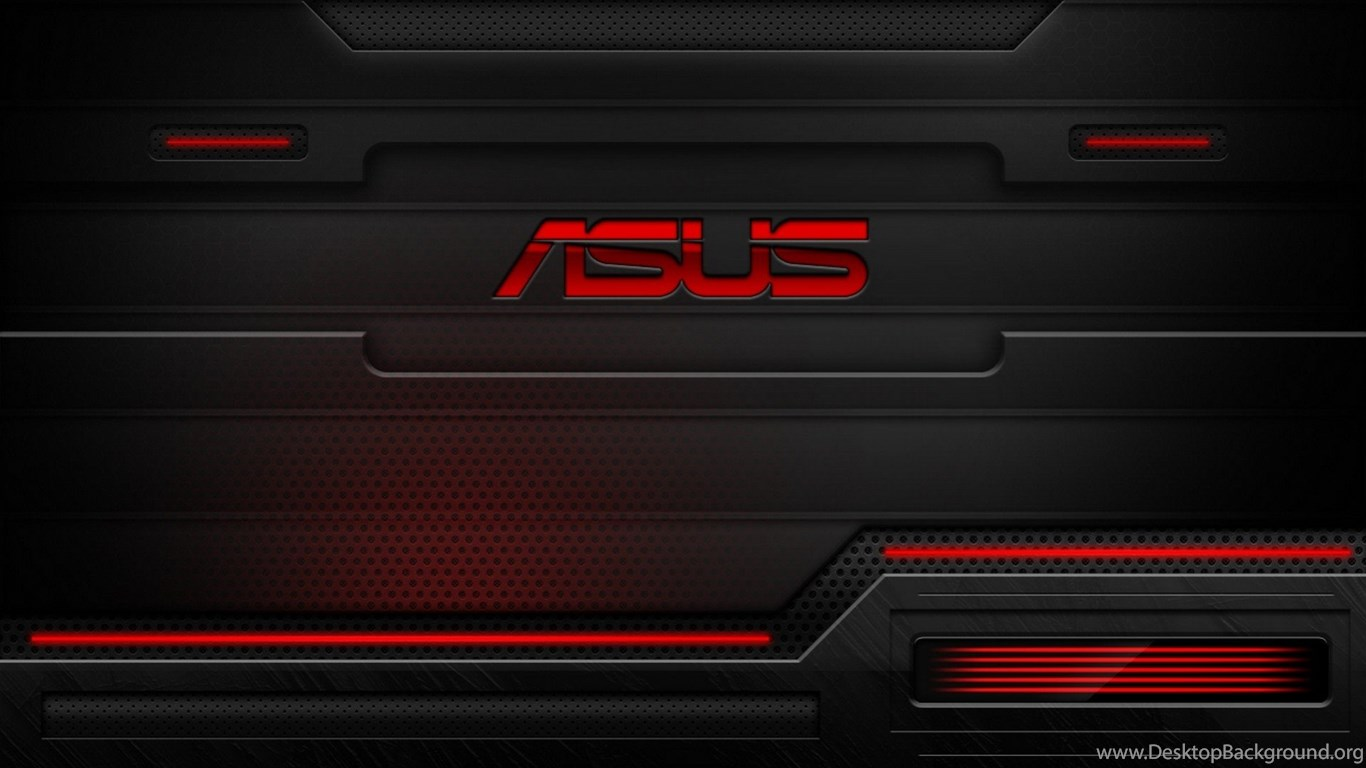 Asus Black Wallpaper: HD Red And Black Asus Technology Wallpapers For Desktop