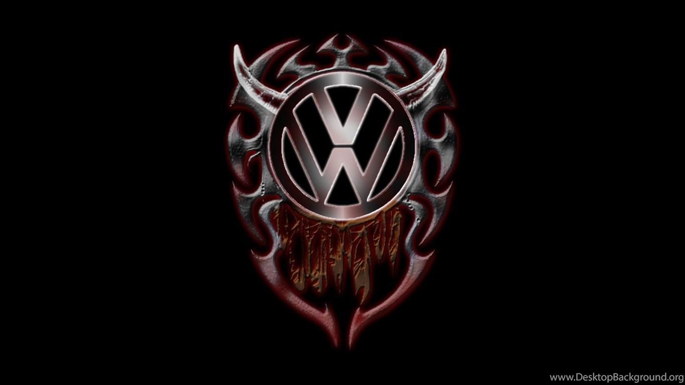 Volkswagen Logo Image Desktop Background
