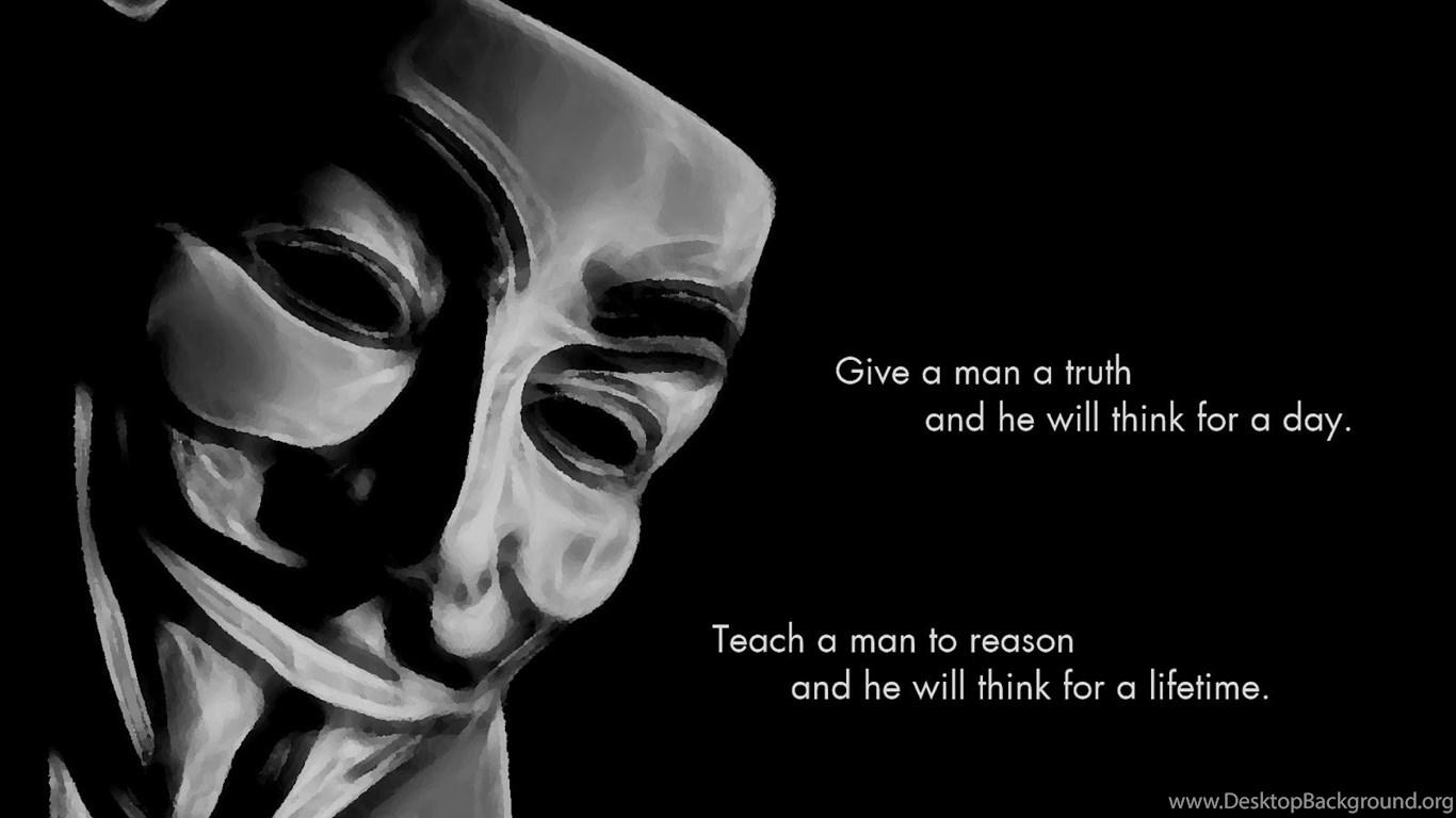 Anonymous Wallpapers Hack The Hacker Desktop Background
