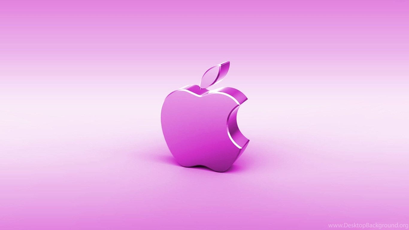 Apple Pink Wallpapers PC 1462 HD Wallpapers Site Desktop