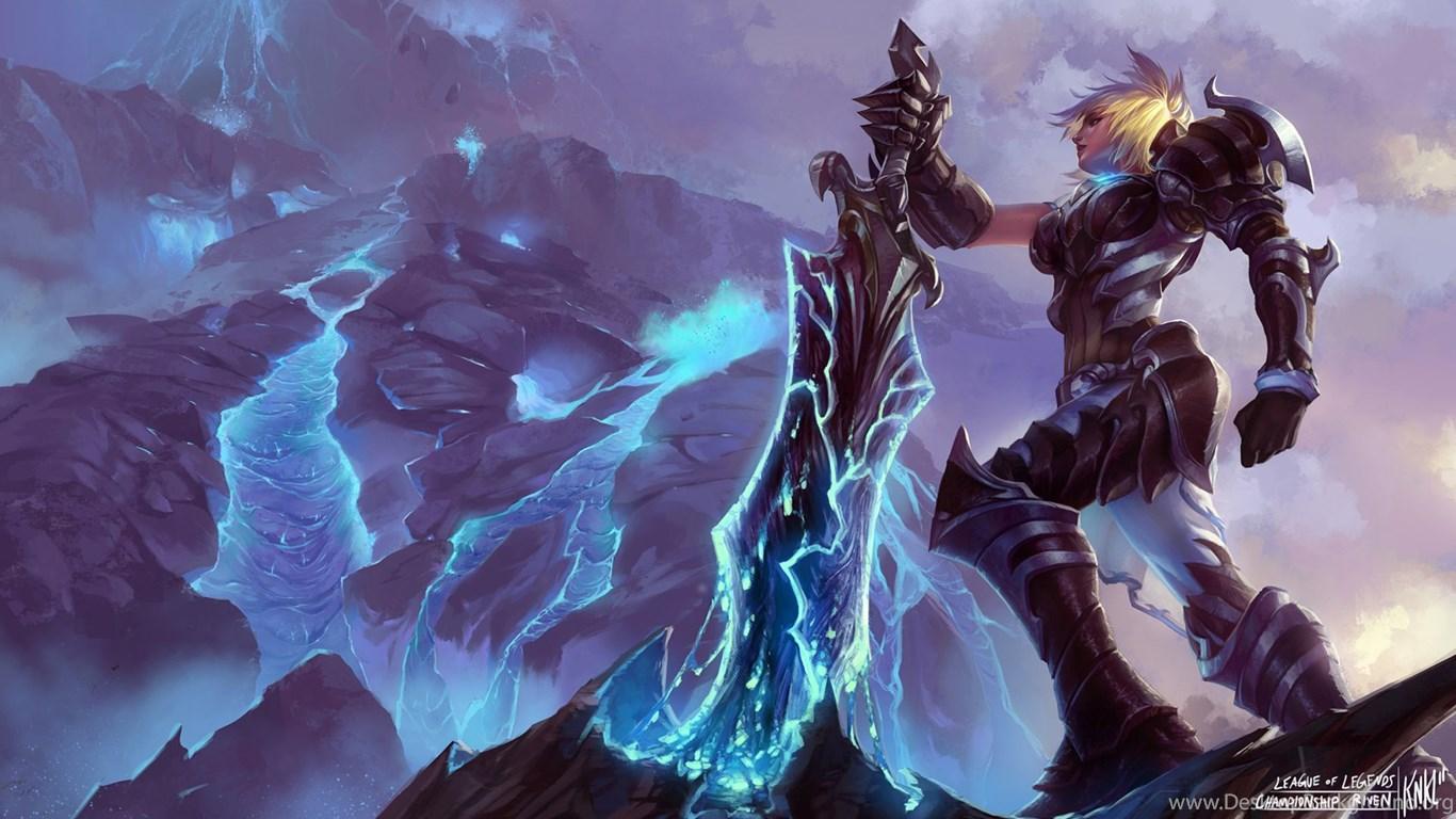 Riven League Of Legends Hd Wallpapers Desktop Background