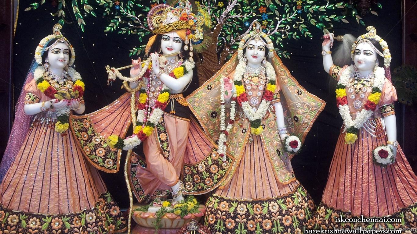 674716 sri sri radha krishna lalita vishakha wallpapers 004 size