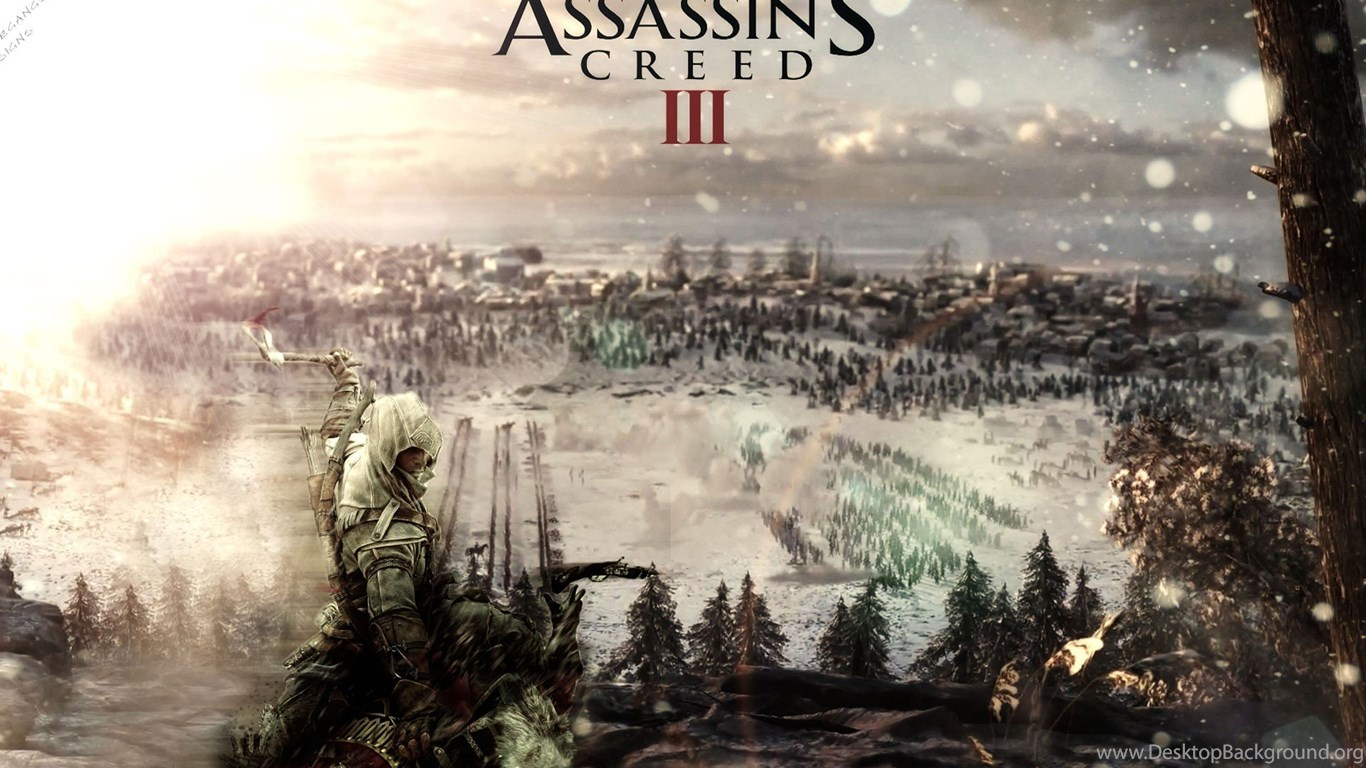 Download The Assassins Creed 3 Wallpaper Assassins Creed 3 Iphone