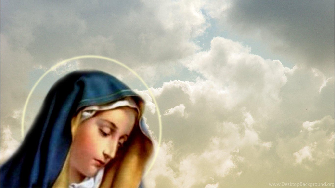 Virgin Mary ( Desktop Background