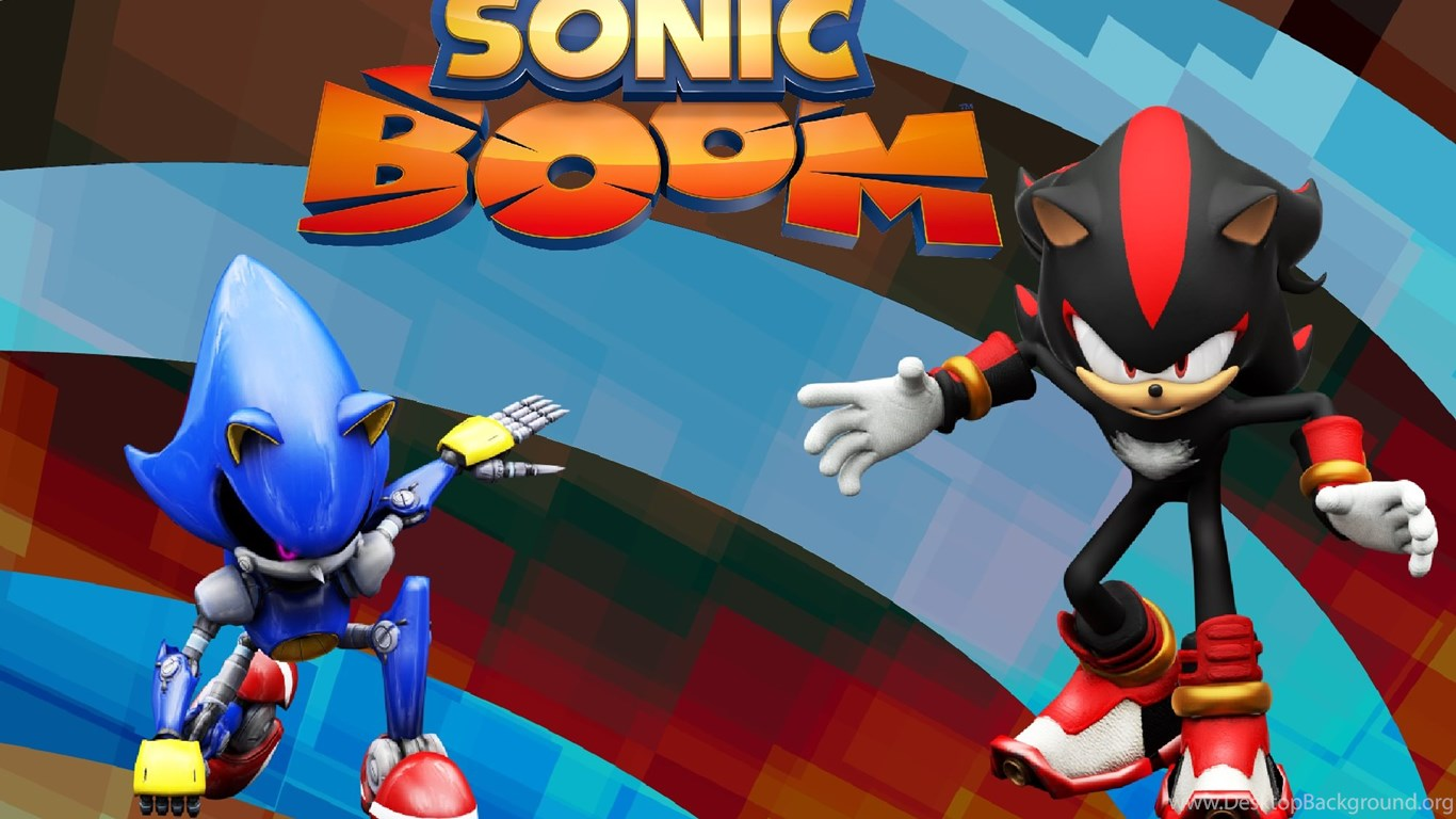 Shadow And Metal Sonic Sonic Boom Wallpapers By Knuxy7789 On