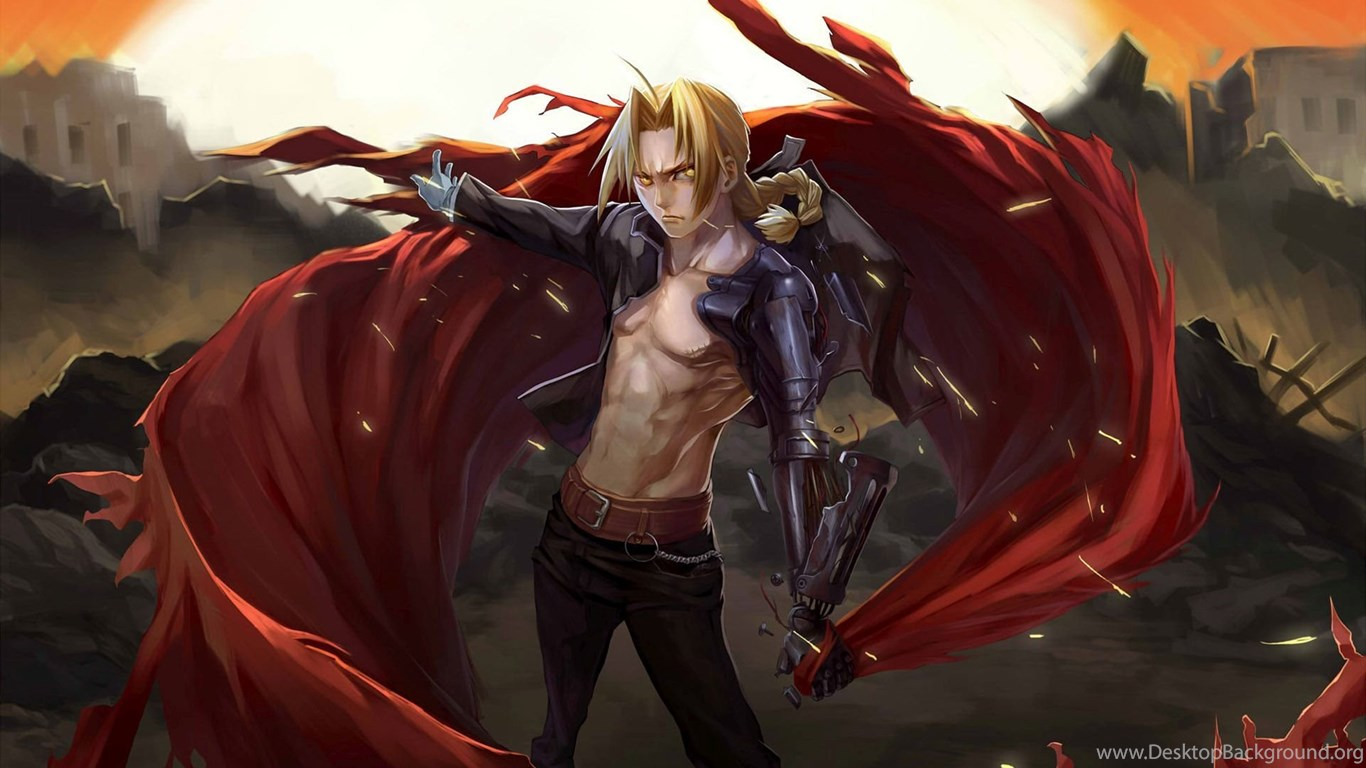 Edward Elric Fullmetal Alchemist Wallpapers Desktop Background