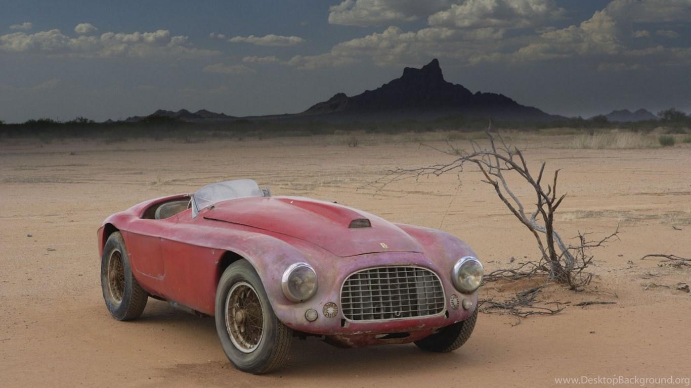 Barchetta Ferrari Old Vintage Hd Wallpapers Desktop Background