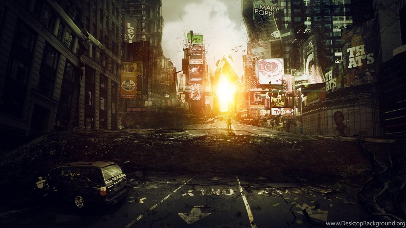 I Am Legend, Times Square By Roald92 On DeviantArt Desktop