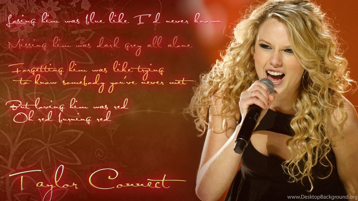 new taylor swift red wallpapers desktop desktop background