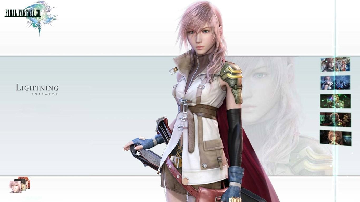 Ff13 Lightning Wallpapers Final Fantasy Series Wallpapers Desktop