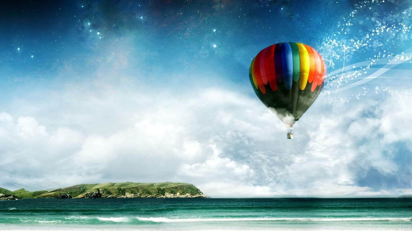 Love Wallpaper Gambar Gambar Balon Udara Yang Cantik Desktop Background