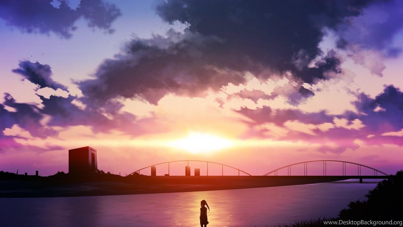Anime Scenery Abstract Wallpapers Hd Desktop Desktop Background