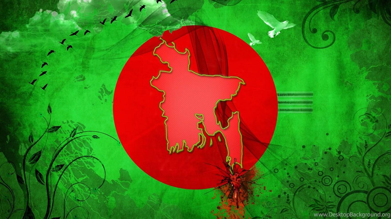 Bangladesh flag by lazin4u on deviantart desktop background - Bangladesh wallpaper download ...