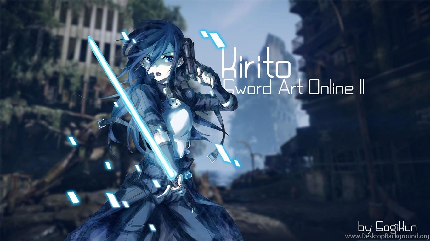 Free Download Kirito Sword Art Online SAO Computer Wallpapers