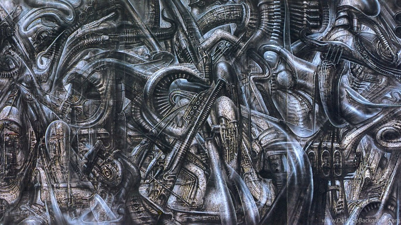 Newyorkcity Xxvi Science Fiction H R Giger Wallpapers