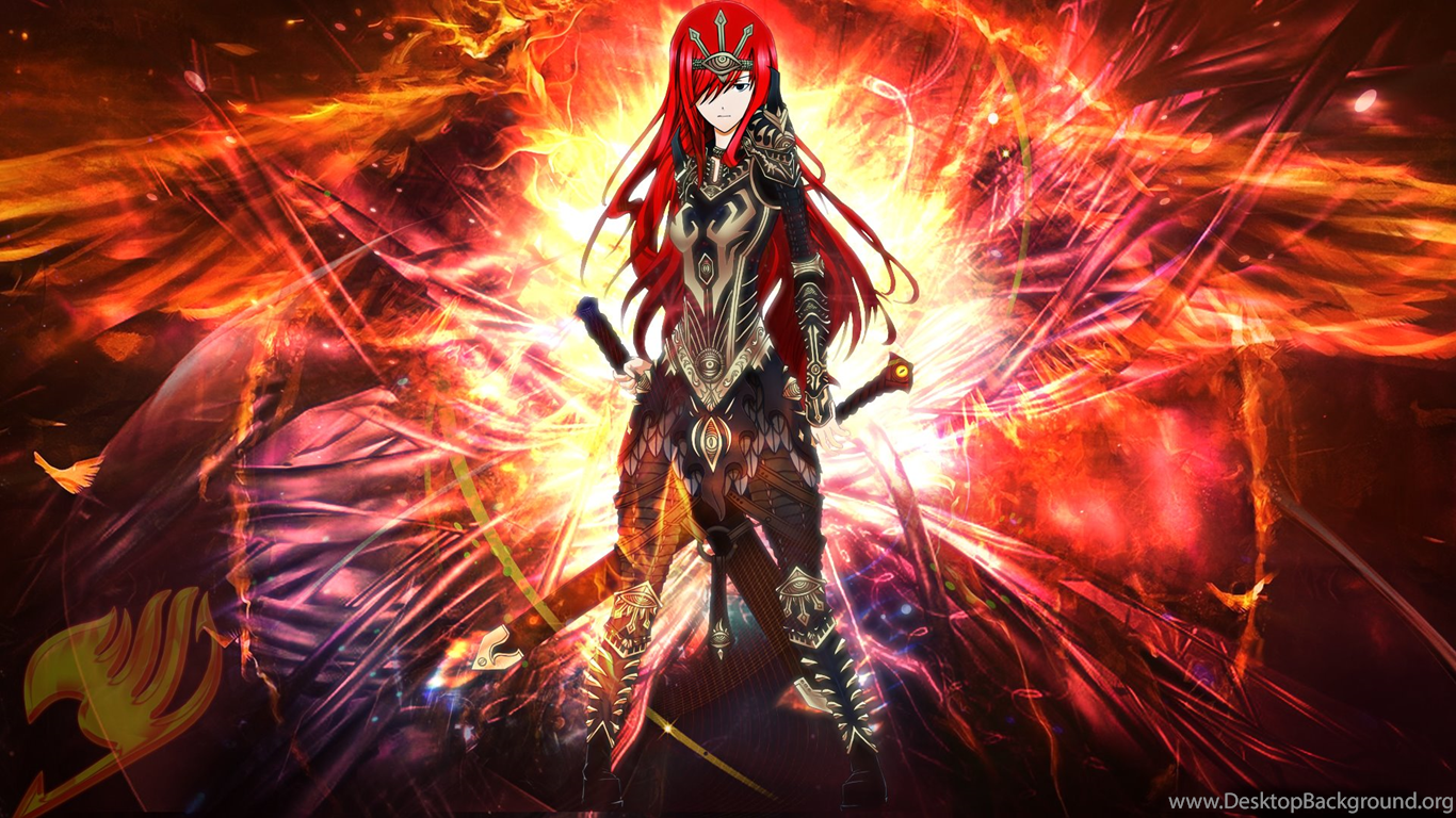 erza scarlet wallpapers for android desktop background