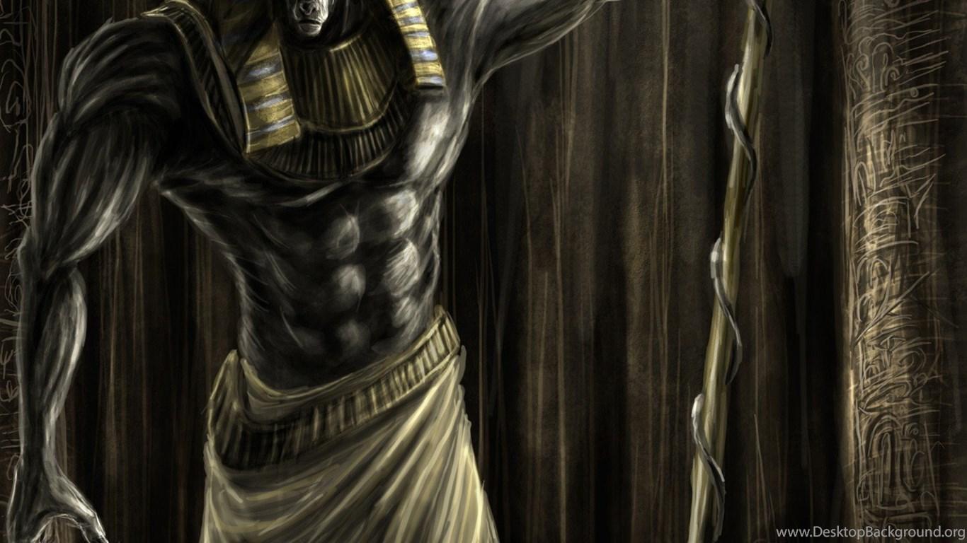 Egypt, Artwork, Mythology, Anubis :: Wallpapers Desktop ...
