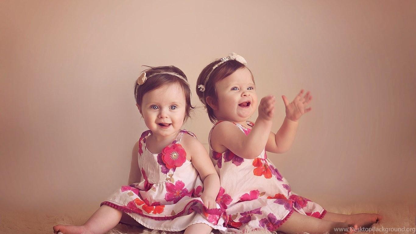 Twin Girls Baby Hd Wallpapers 2015 Cute Twin Boys Girls Wallpapers Desktop Background