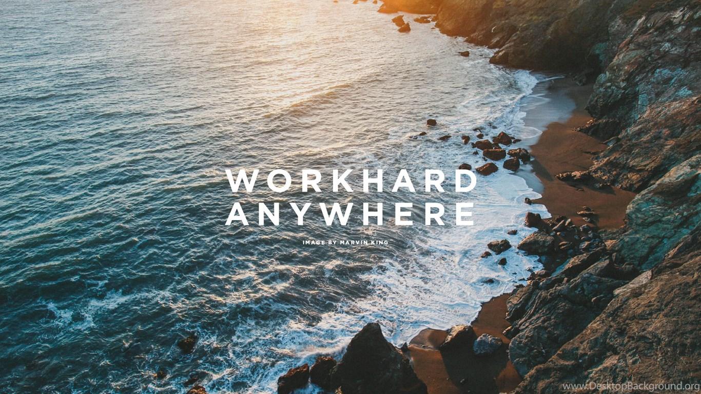 Work hard wallpaper