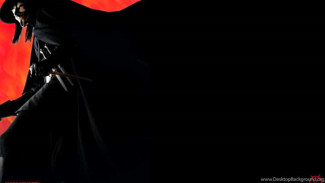 V For Vendetta Wallpapers Cave Desktop Background