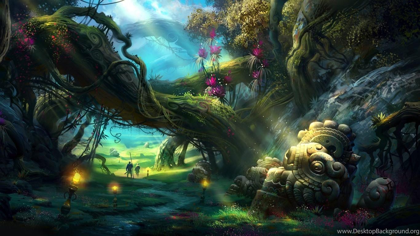 Hd Fantasy Wallpapers To Inspired Your Desktop: Mystical HD Wallpapers Desktop Background