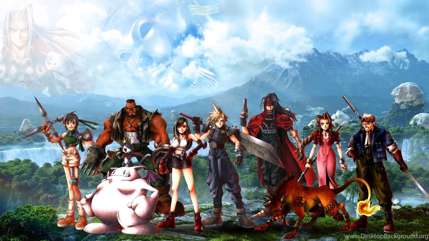 Download Free Final Fantasy Wallpapers 15 Beautiful: Alex T Design: Final Fantasy VII Wallpapers (30x15