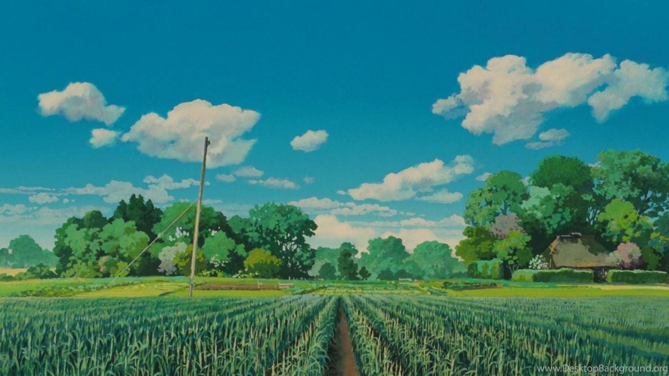 Wallpapers Studio Ghibli Desktop Backgrounds Desktop ...