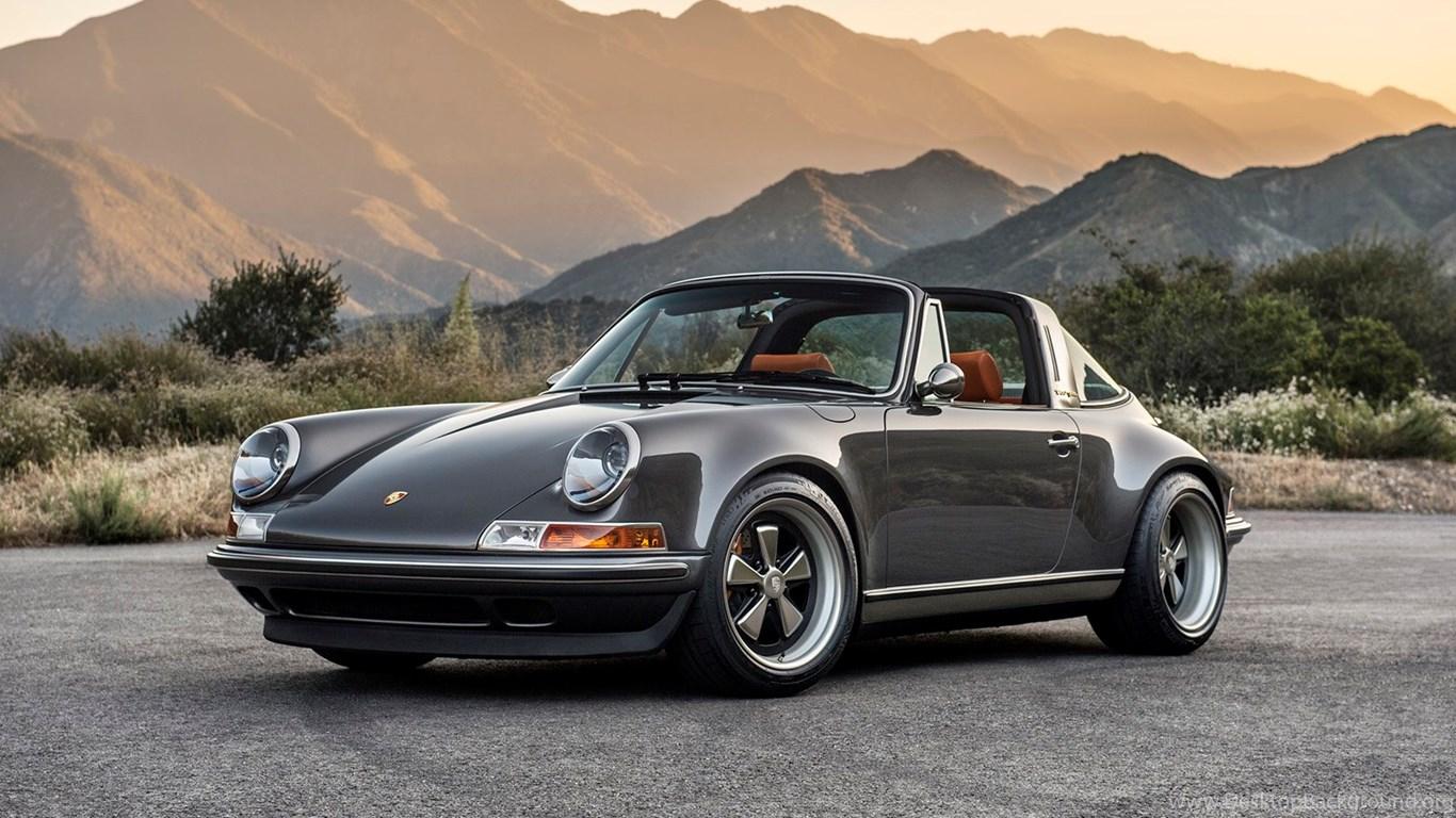 Porsche 911 Targa By Singer Vehicle Design Desktop Background