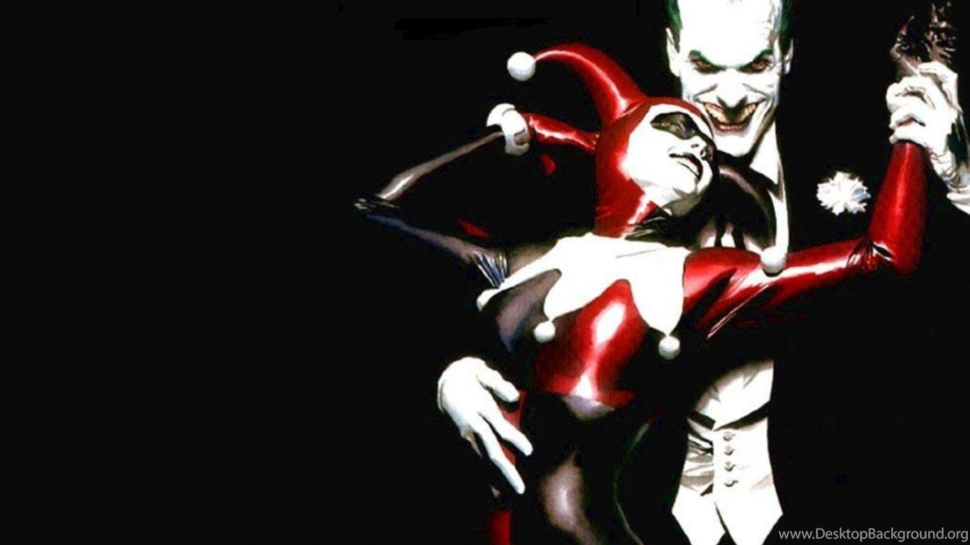 Batman The Joker Harley Quinn Hd Wallpapers Desktop Background