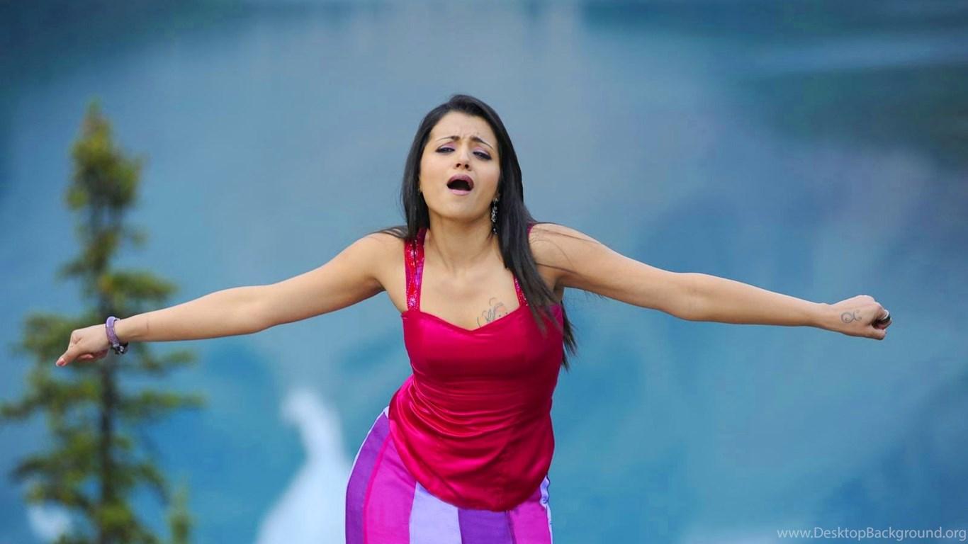 Tamil Actress Trisha Krishnan Hd Wallpapers Desktop Wallpapers
