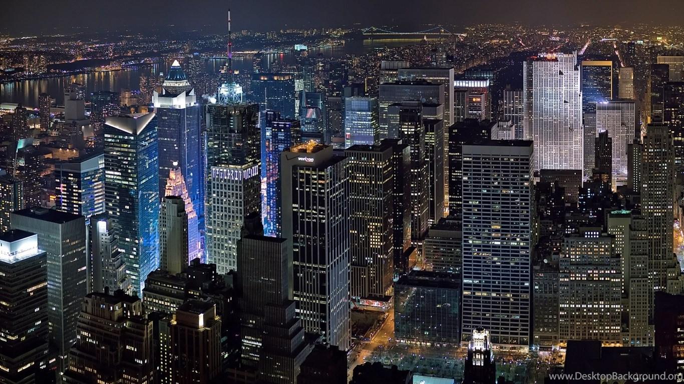 New York Skyline Hd Wallpapers Fit Desktop Background