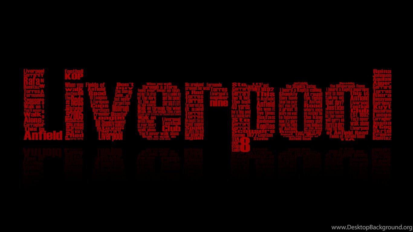 Download Liverpool Black Wallpapers Sport HD Desktop