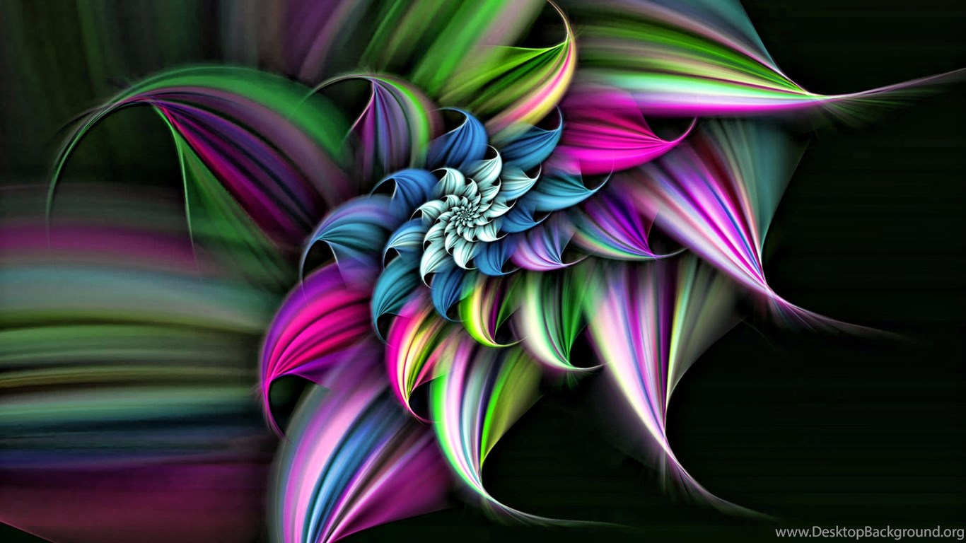 Unique Flower 4K 3D Wallpapers Desktop Background