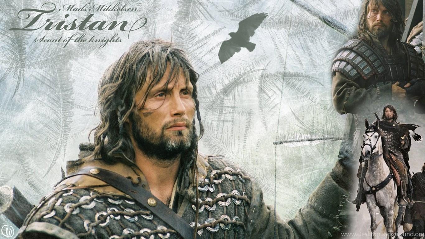 Mads Mikkelsen As Tristan In King Arthur Mads Mikkelsen