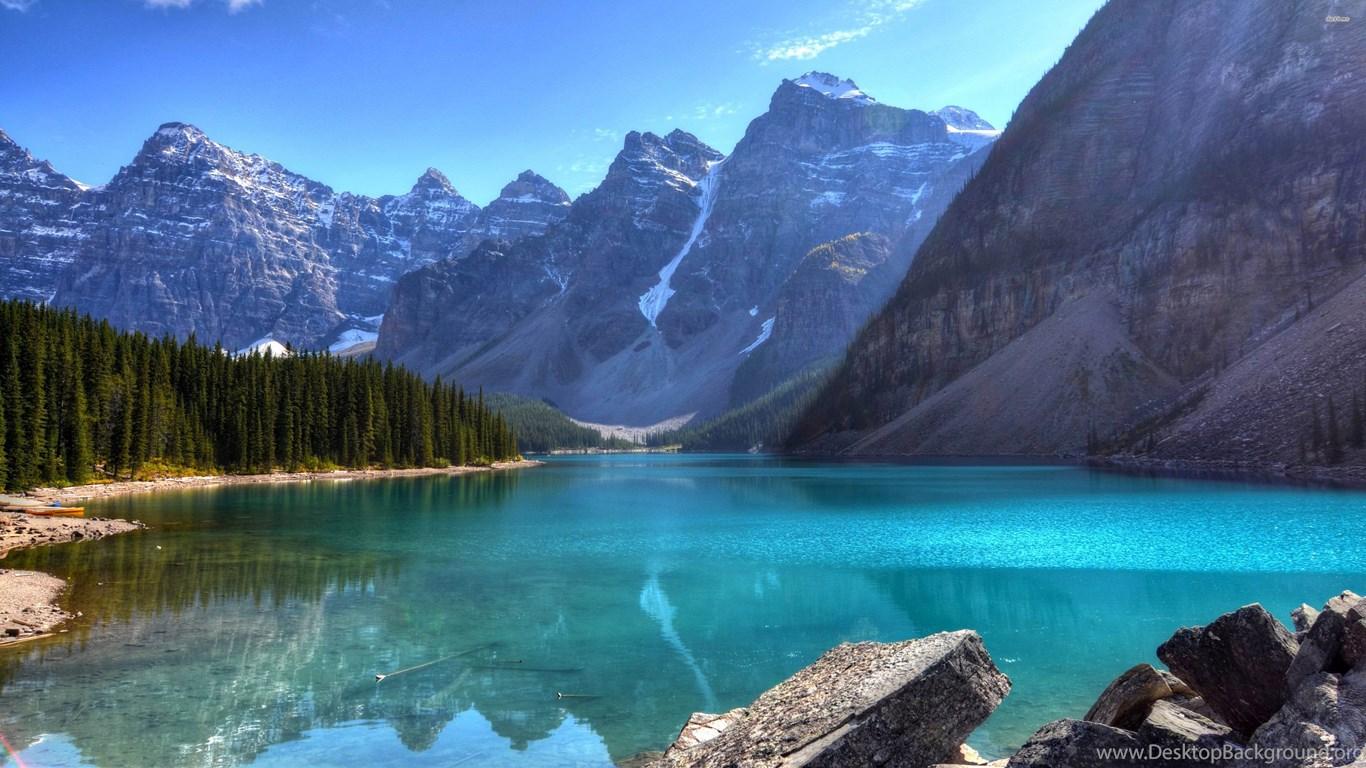 River 5k Retina Ultra Hd Wallpaper: Beautiful Blue Mountain Lake 3840x2160 4K 16/9 (Ultra HD
