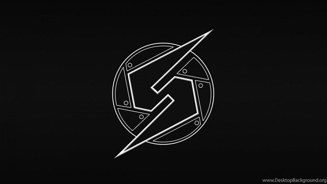 Metroid Logo Black Backgrounds Hd Wallpapers ( Desktop ...