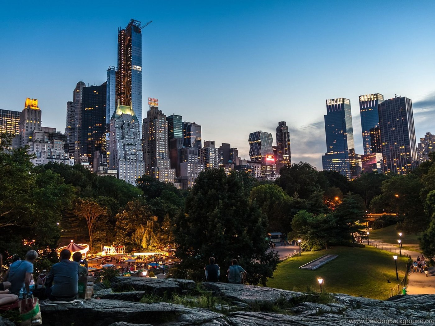 a description of the central park in new york city