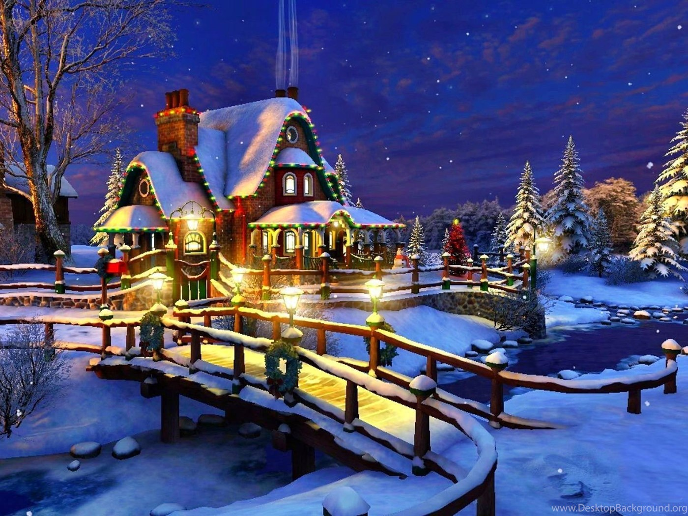 Christmas Wallpapers HD 1920x1080 Free Wallpapers Full Hd 1080p ... Desktop Background