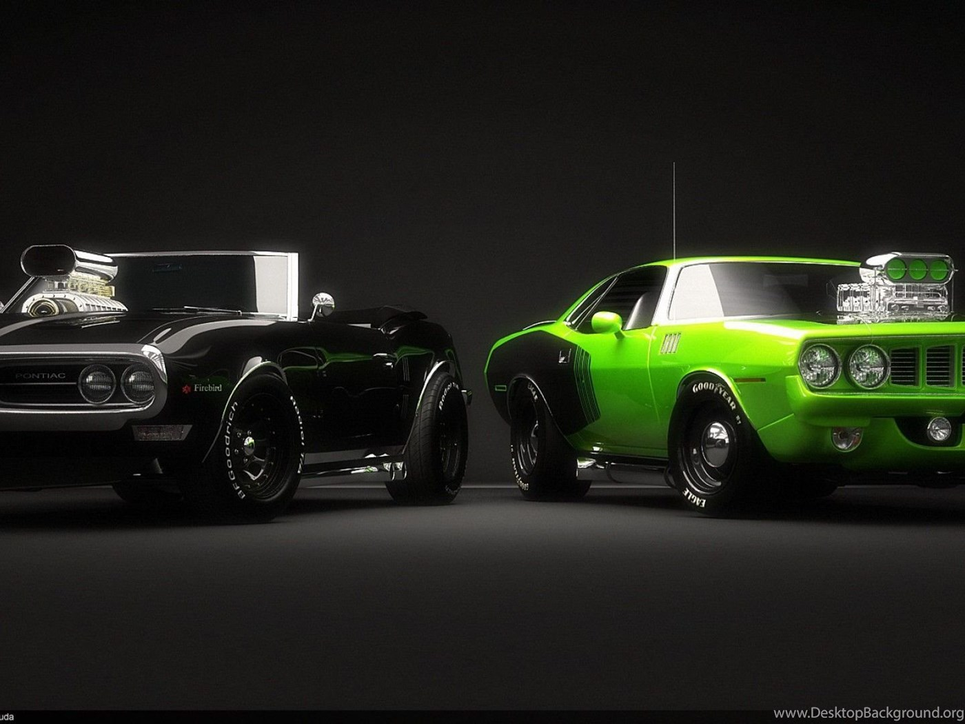 Download Black And Green Car Wallpapers Hd 3d Desktop Background
