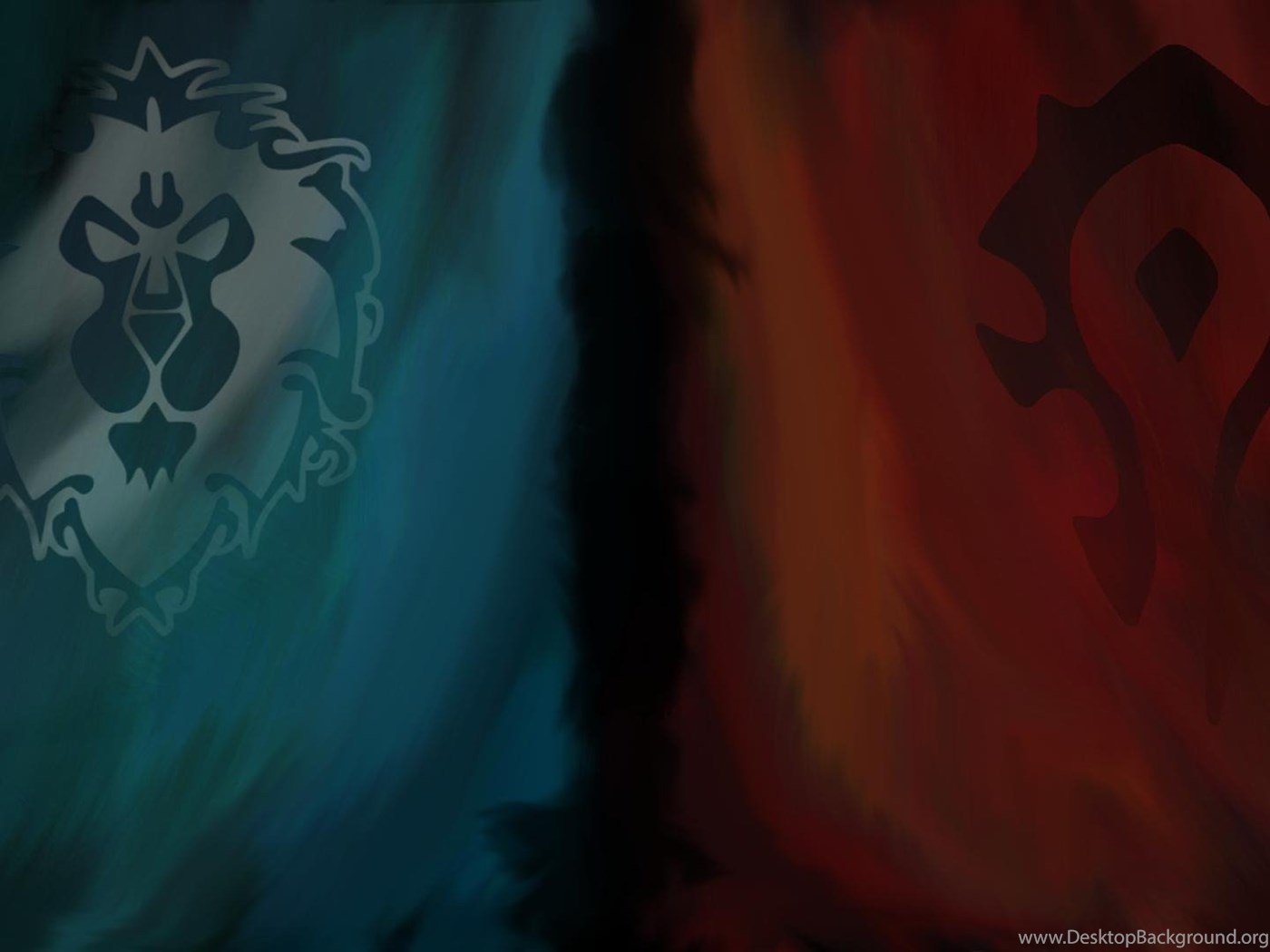 Larger Alliance And Horde Backgrounds As Requested 1920x1080 Wow Desktop Background