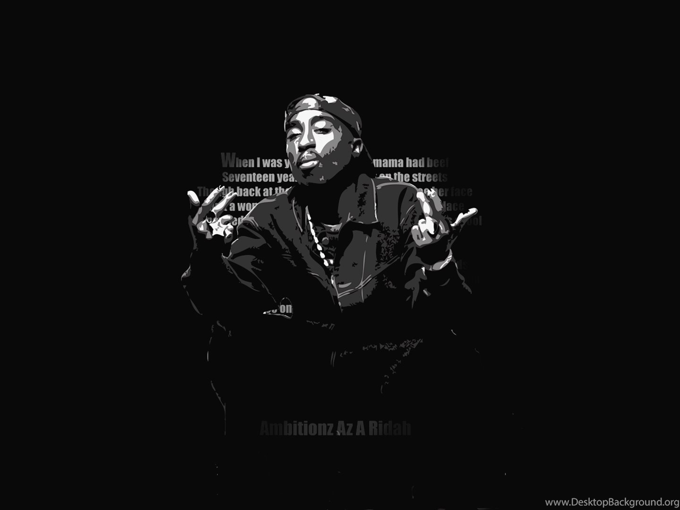 Tupac Backgrounds Desktop Background