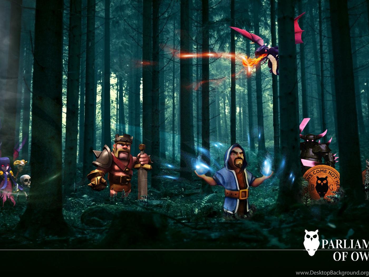 Clash Of Clans Wizard Wallpaper Images Desktop Background