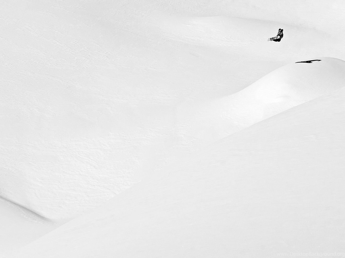 Snowboard Wallpaper: Marco Feichtner Makes The Most Of A Blank ...
