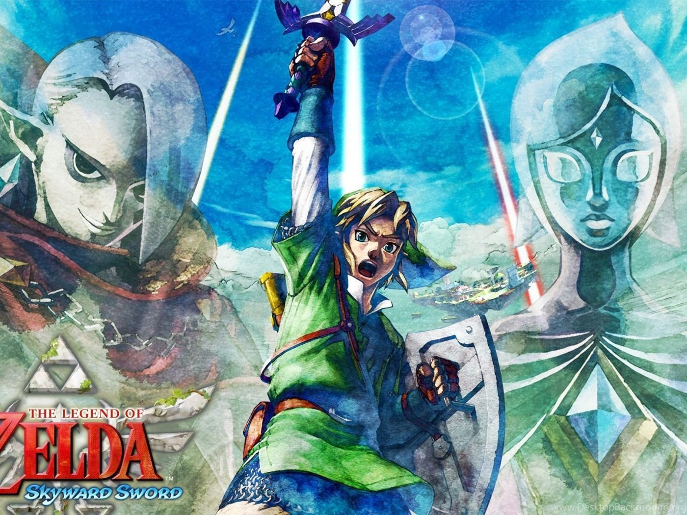 Download Wallpapers 1920x1080 The Legend Of Zelda Skyward Sword